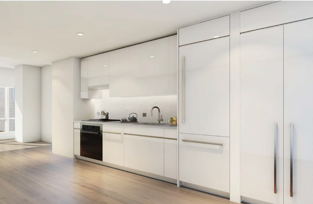THEA luxury kitchen white cabinets