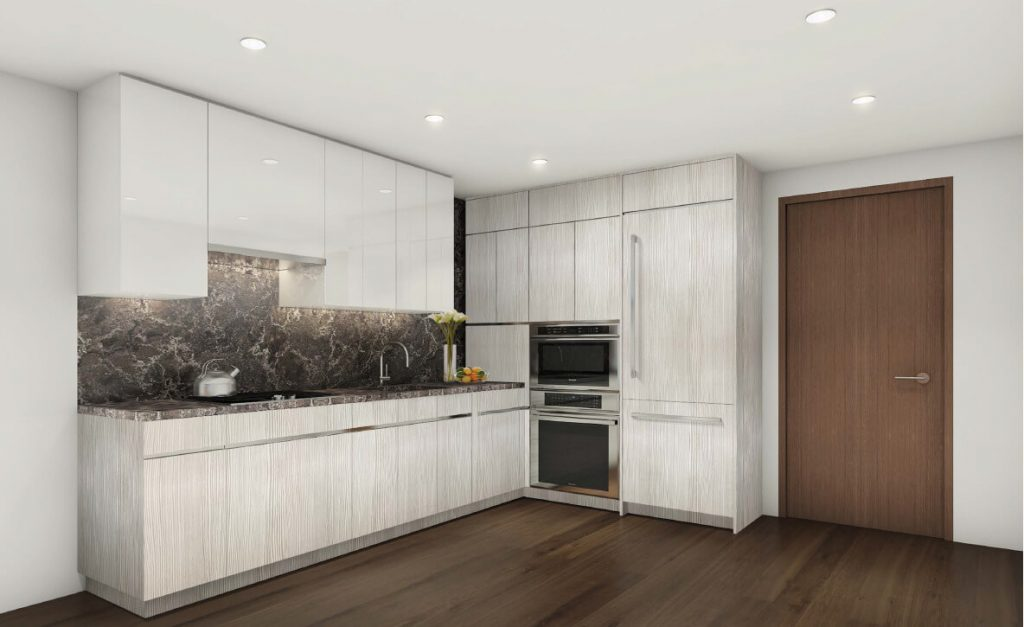 THEA high-end penthouse kitchen