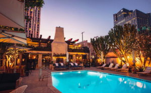 Hotel Figueroa near THEA apartments in Downtown Los Angeles