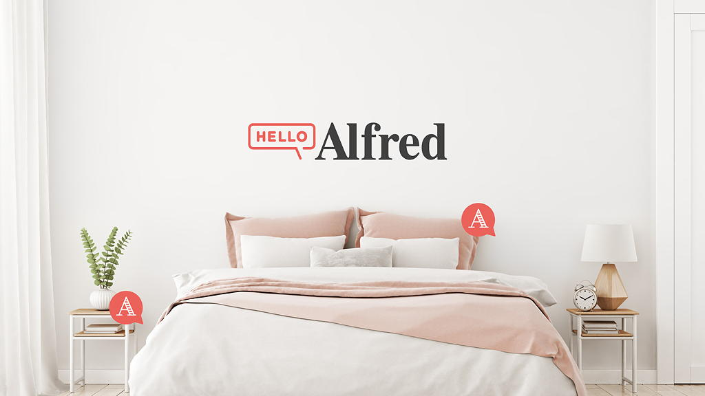 Hello Alfred at THEA residences in Downtown Los Angeles